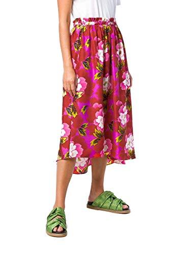 Seta Kenzo Gonna Rosso Donna F862ju08752121 xwqxSBP7