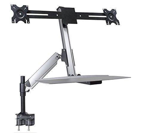 DoubleSight Ergonomic Monitor Sit Stand DS ERGO 200 product image