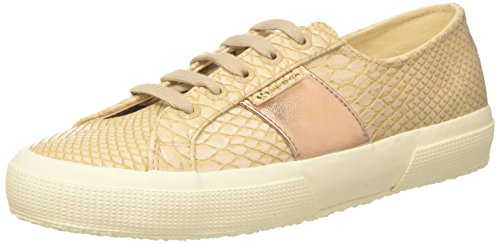 Beige 2750 Faux Khaki Nude Crocodile Superga Women's Sneakers Synthetic 7HwEqFpn