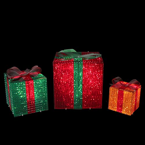 Outdoor Lighted Bows in US - 3
