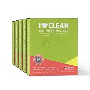 Sanitary & Diapers Disposal Bag by SIRONA