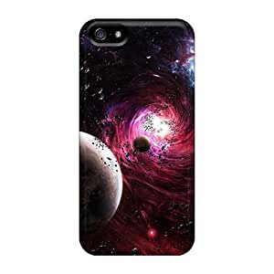 Defender Cases Case For Iphone 5/5S Cover , 3d Space Pattern Black Friday