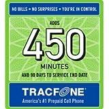 Tracfone 450 Minute Prepaid Card
