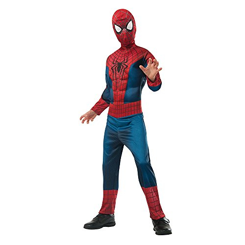 Amazing Spider-Man 2 Deluxe Kids Costume (The Amazing Spider Man Costumes)