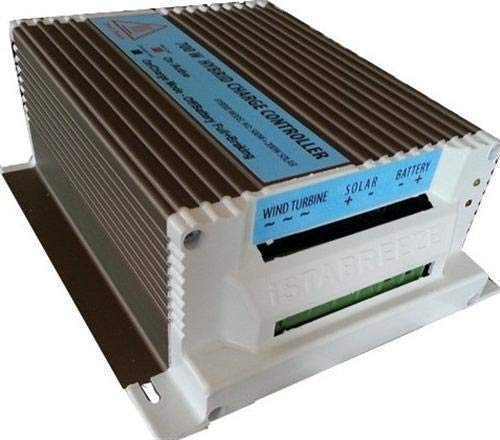 Ista Breeze Hybrid Charge Controller 12V-24V 650W for Wind Turbine, Wind Generator (12V) by Ista Breeze (Image #1)