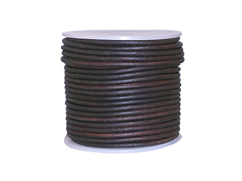round leather cord 2mm - 9