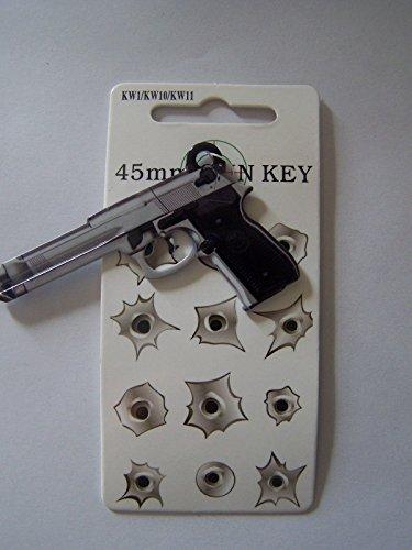 45mm Gun Kwikset KW1/KW10 house key blank.
