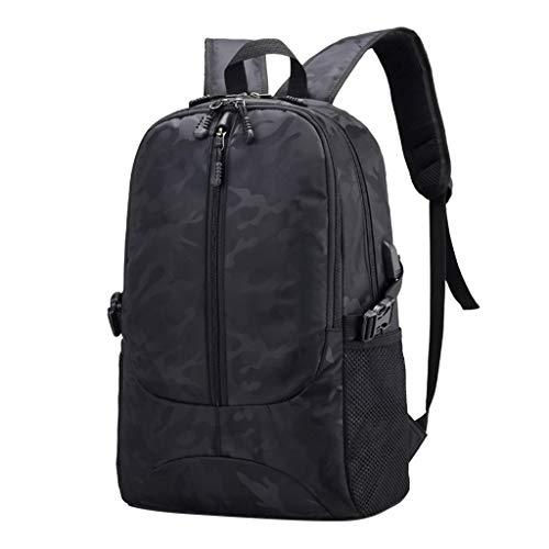 Emimarol Men Backpack Camouflage Students School Backpacks Laptop Backpack Casual Daypack Rucksack with USB Travel Bag