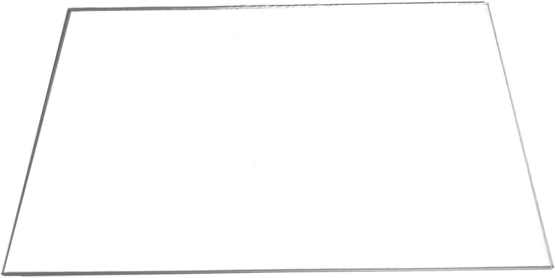 Policarbonato de madera maciza de placa de 4 mm de grosor de mesa de tamaño 1250 x 680 mm translúcido/transparente/Transparente de Lexan