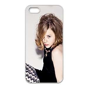 iPhone 5 5s Cell Phone Case White hg13 chloe moretz poze photoshoot film cute E2O6QF