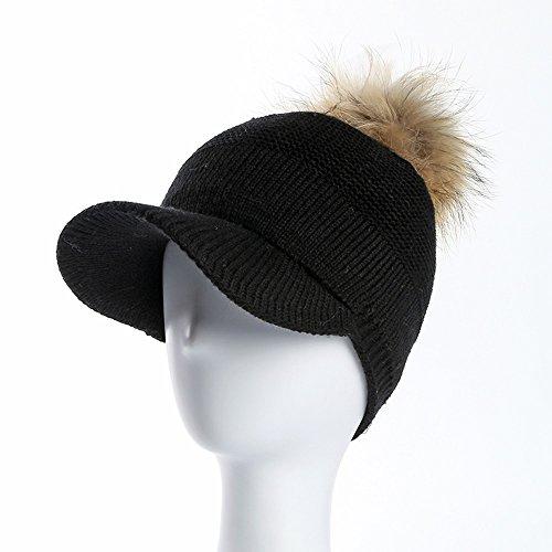 Mantenere Cap Ms colore Nero Cappello Baseball Beige Knitting Autunno Colore Multipla Caldo E Zhirong Inverno scelta xIC8wAS
