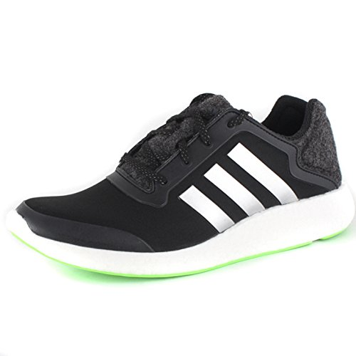 Pureboost solar green black Shoe Running Men's Performance adidas qWTwFxA6vE