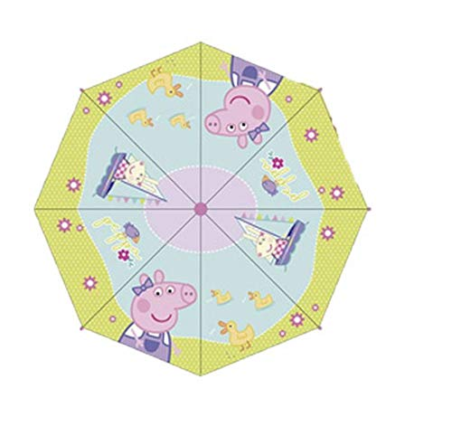 ARDITEX Parapluie Pour Enfant Sous Licence Peppa Pig En Polyester 38Cm 2 Assortis Paraguas clásico, 56 cm, Rosa (Manche Rose Ou Violet): Amazon.es: Equipaje