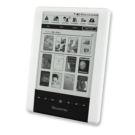 Pandigital PRD06E20WWH8 Pantalla táctil 2GB WiFi Gris lectore de e ...