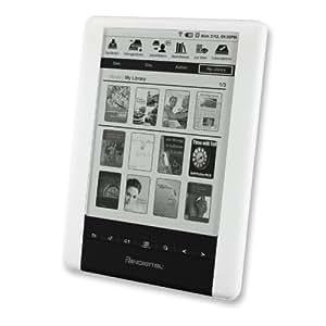 "6"" Pandigital Novel 2GB eBook Reader/MP3 Digital Music Player & Photo Viewer w/Barnes & Noble, WiFi & microSD Slot (Wht)"