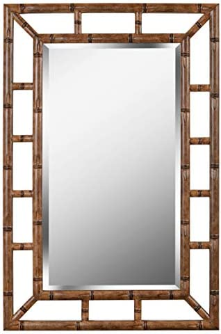 Kenroy Home Casual Wall Mirror ,26 Inch Height, 40 Inch Width,1.5 Inch Ext. with Bronze Finish