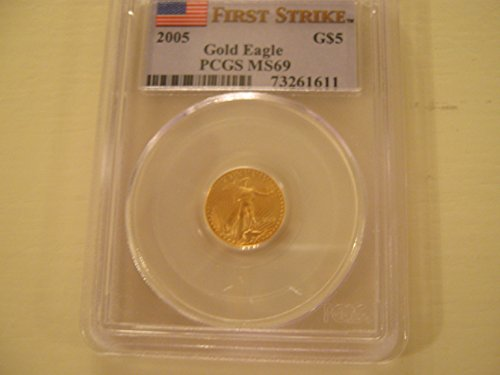 2005 American Eagle Gold $5 MS-69 PCGS