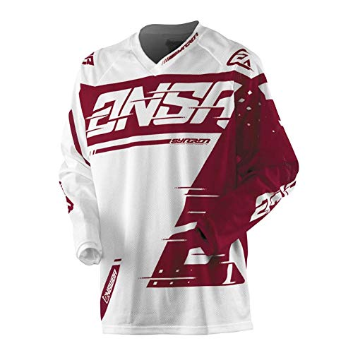 Answer 2018.5 Youth Syncron Air Jersey (X-SMALL) (WHITE/RED)