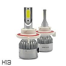 All in One 100W 10000LM CREE LED Headlight DRL Kit/High/Low Beam/Fog Lamp Kit Light Bulbs White 9005 9006 9007 H4 H10 H11 H13 (H13)