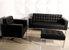 Amazon.com: Florence Knoll Modern Style Sofa Armchair by ...