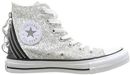 Converse Chuck Taylor All Star Animal Hi - Zapatillas de estar por casa Mujer Blanc/Argent 33