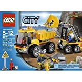 Toy / Game LEGO City 4201 Loader And Tipper With 2 Mining Helmets, Hatchet, Lifting Bucket And Dumping Function by 4KIDS