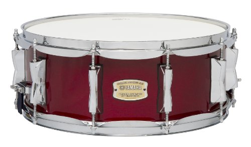 Yamaha Stage Custom Birch 14x5.5 Snare Drum, Cranberry Red (Snare Ring)
