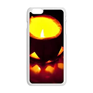 """Happy Halloween distinctive shiny pumpkin Case for iPhone 6 plus 5.5"""" wangjiang maoyi"""