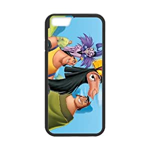 iPhone 6 Plus 5.5 Inch Cell Phone Case Black Disney The Emperor's New Groove Character Pacha 008 WH9461277