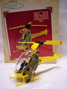 G.I. Joe Keepsake Ornament Helicopter 2004 Rare Hallmark Ornament ()