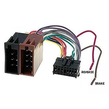 Cable Adapter Kabelbaum ISO Pioneer AVH 16 Pin: Amazon.de: Elektronik