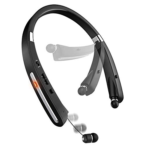 Bluetooth Headset, Bluetooth Headphones-LBell 30 H...