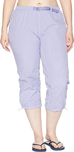 White Sierra Lihue Capri - Extended Sizes, Light Iris, (Capri Iris)