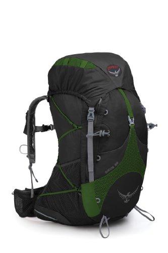 Osprey Exos 58-Litre Backpack (Jungle Green, Medium), Outdoor Stuffs