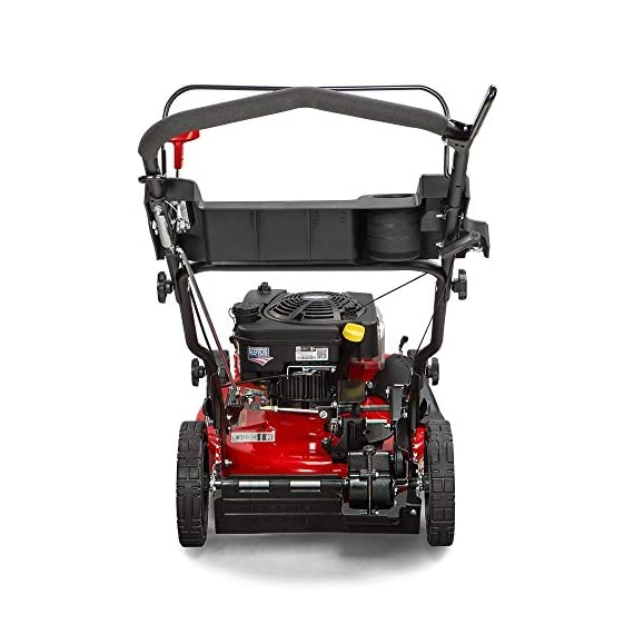 """Snapper RP2185020 / 7800981 NINJA 190cc 3-N-1 Rear Wheel Drive Variable Speed Self-Propelled Lawn Mower with 21-Inch Deck and Ready Start System, Ninja Mulching Blade and 7 Position Heigh-of-Cut 6 <p>Snapper RP2185020 NINJA Series Lawn Mower. Best mower for mulching fans, the Snapper Ninja walk-behind lawn mower's powerful blade with 6 cutting surfaces finely mulches grass clippings while the deck blows them back into your yard. This Snapper 21"""" lawn mower features a rear wheel drive system with high 10"""" rear wheels for superior traction on hills & thick grass. The reliable Briggs & Stratton professional series OHV engine keeps you going with professional-grade features from ready start technology to quieter operation & increased durability. Briggs & Stratton 850 professional Series engine with ready start starting system no priming, no choking. Just pull and go Rear wheel drive improves walk behind mower traction and the smooth turn differential helps ensure easy maneuverability without damaging your grass Ninja blade features 6 powerful cutting surfaces to finely mulch your grass while the deck design blows them back into the lawn Rugged solid Steel front Axle and stamped Steel mower deck provides long lasting performance season after season Easily change the height of cut with the easy to use adjustment handles (7 height of cut adjustments from 1.25 Inch to 4 inch)</p>"""