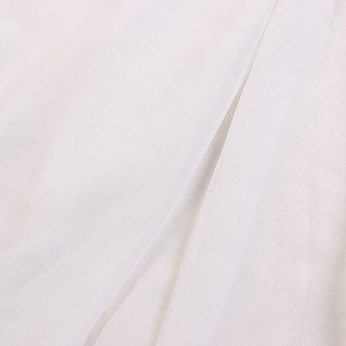 Zorazone - Vestido - sujetador bandeau - para mujer blanco
