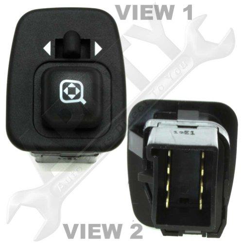 F5tz17b676a Power Side View Mirror Control Switch, Oem Ford Oem Power Mirror Switch
