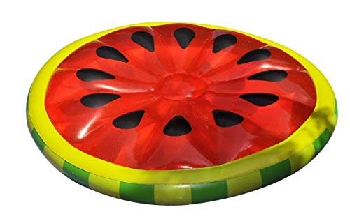 - Swimline Watermelon Slice Island Inflatable Raft
