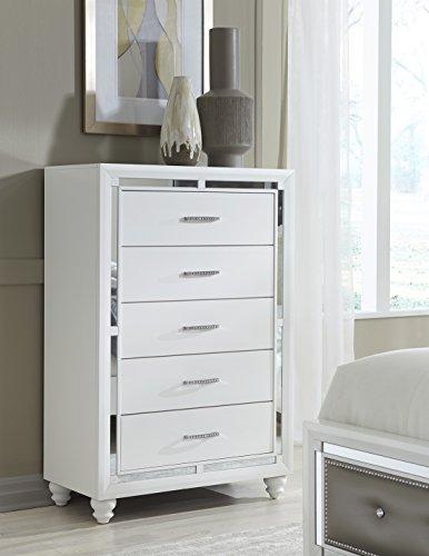 Global Furniture USA CH Mackenzie Chest, White