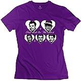 Soulya Women's New Kids On The Block T-Shirt Size XS US Purple