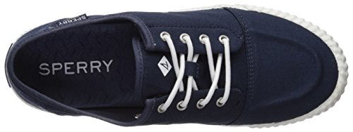 Sperry Top-sider Womens Sayel Splash Sneaker, Navy, 6 Medium Noi