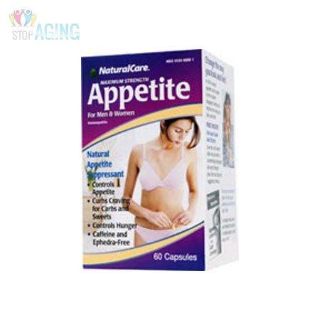 NaturalCare appétit abat maximum homéopathique pour les hommes et les femmes, 60 Capsules
