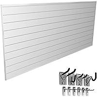 Proslat 33006 Mini Bundle w/ Slat Wall Panels & Mini Hook Kit