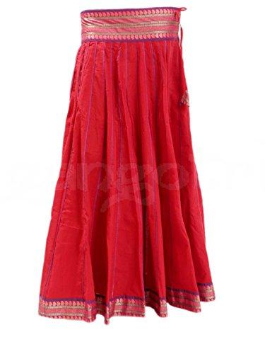 Skirt 40 Panel Red