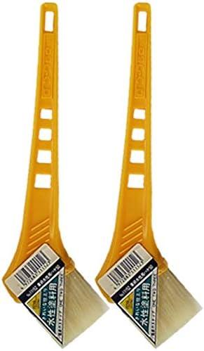 黄柄水性ハケ50mm巾 2本セット 通常便