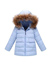 CQO❤Baby Girls Boys Kids Thick Jacket Coat Winter Warm Outerwear Clothes 1-5T