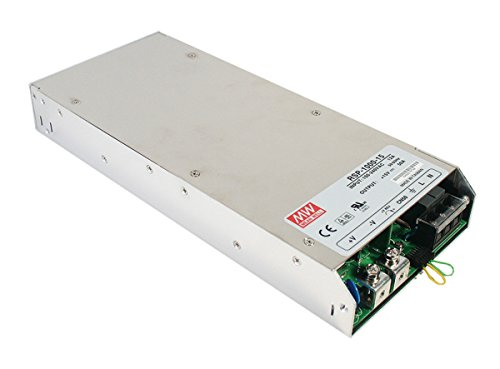 MEAN WELL RSP-1000-48 AC to DC Power Supply 48V 21 Amp 1008W with PFC