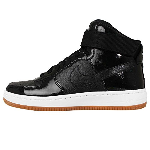 Nike W Af1 Ultra Force Mid -, Homme, Multicolore (Black/Black-Dark Grey), Taille Multicolore