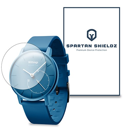 6X - Spartan Shield Premium Hd Screen Protector For Withings Activite Pop - 6X