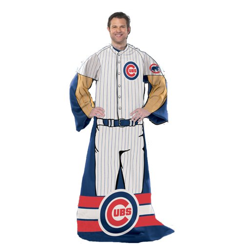 Chicago Cubs Snuggie Blanket Cubs Blanket With Sleeves